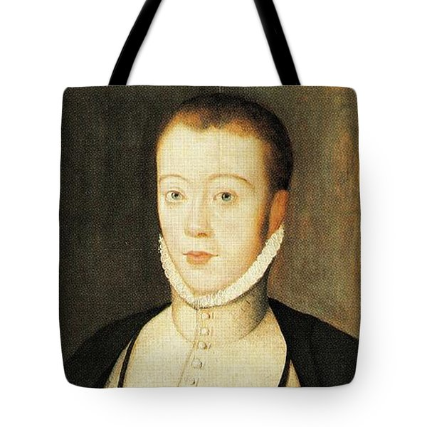 Henry Stewart Lord Darnley Married Mary Queen Of Scots 1565 Tote Bag
