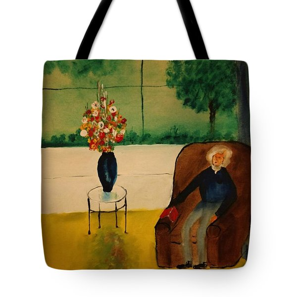 Henry Thoreau Tote Bag