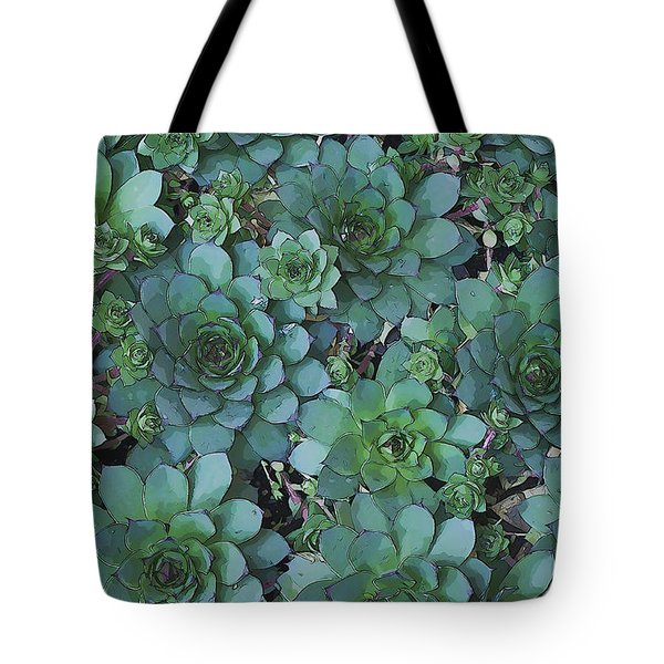 Hens And Chicks - Digital Art  Tote Bag