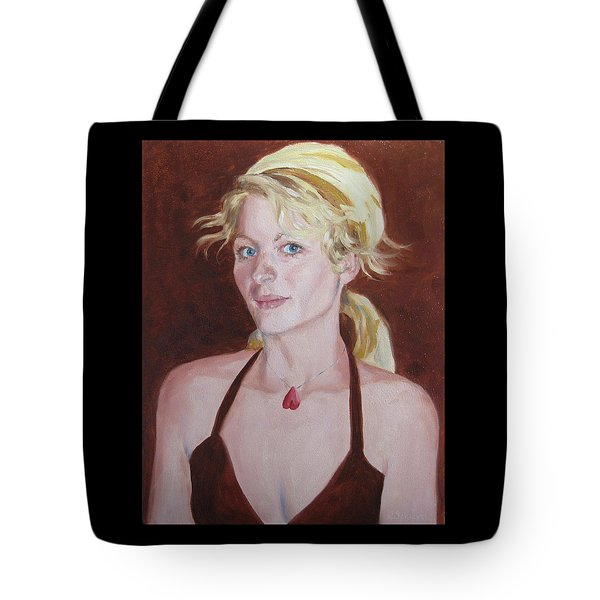Her Accessible Heart Tote Bag