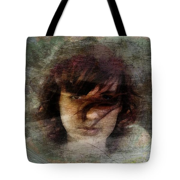 Her Dark Story Tote Bag by Gun Legler