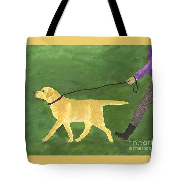 Her Dog Took Her Everywhere Tote Bag