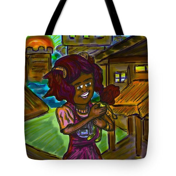 Her Doll Land Tote Bag