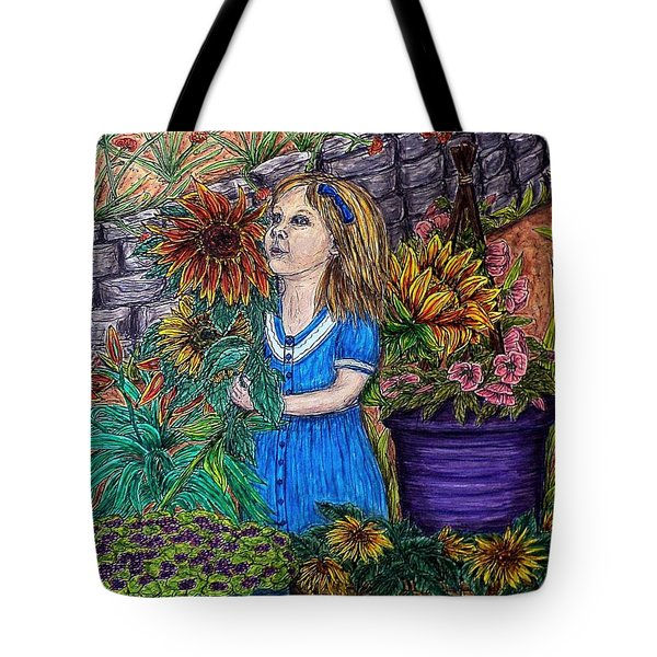 Her First Garden Tote Bag