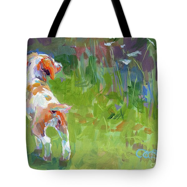 Her First Point Tote Bag by Kimberly Santini