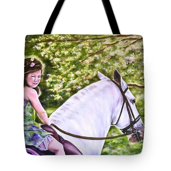 Her Guardian Tote Bag
