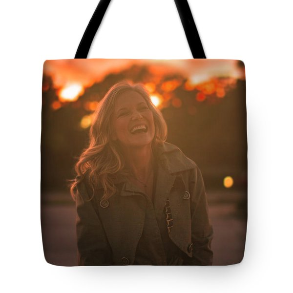 Her Laugh Tote Bag