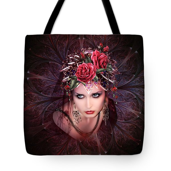 Her Light And Beauty So Fair  02 Tote Bag