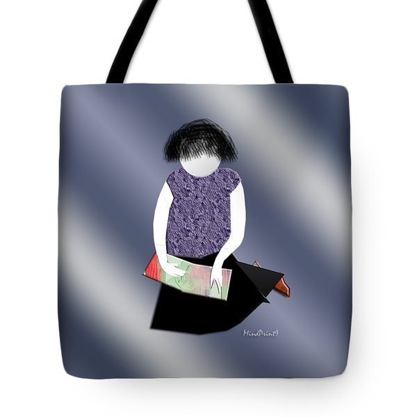 Her Picture Book Tote Bag