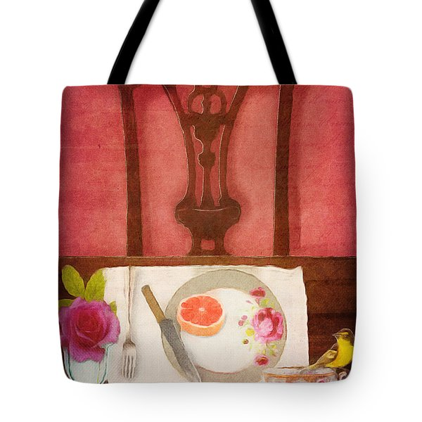 Her Place At The Table Tote Bag