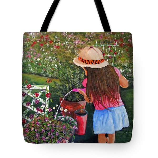Her Secret Garden Tote Bag
