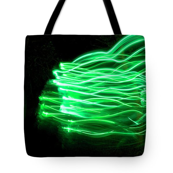 Her Spirit Lives In The Woods Tote Bag by Ellery Russell