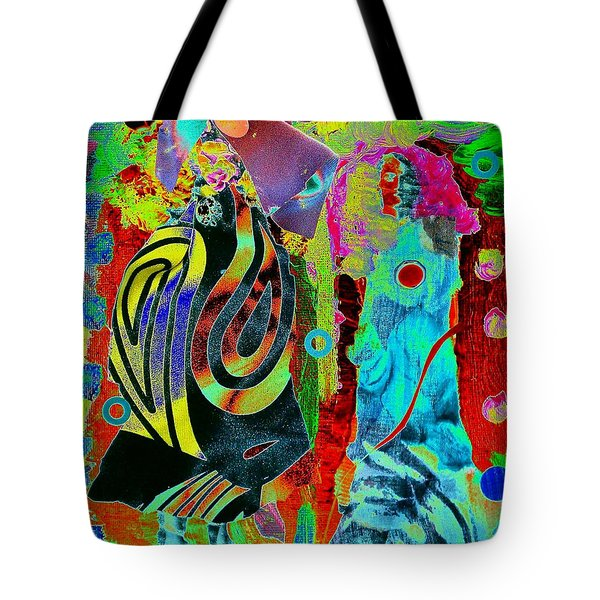 Her Time Has Come Tote Bag