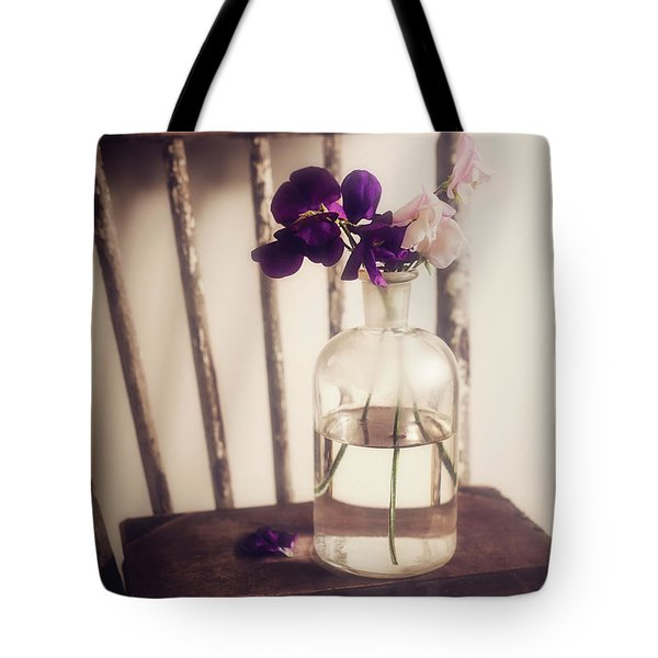Tote Bag featuring the photograph Her Treasures by Amy Weiss