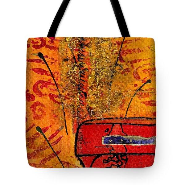 Her Vase Tote Bag by Angela L Walker