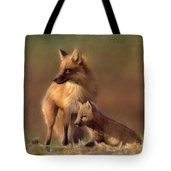 Her Watchful Eye Tote Bag