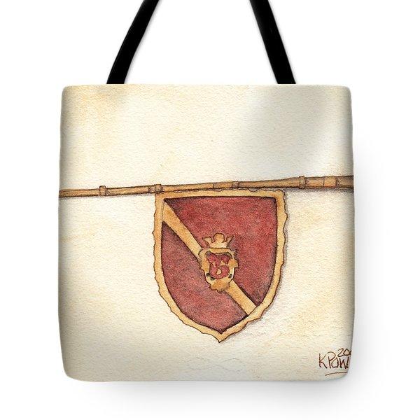 Heraldry Trumpet Tote Bag