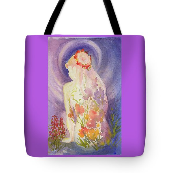 Herbal Goddess  Tote Bag