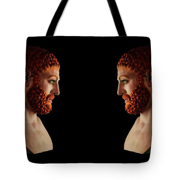 Tote Bag featuring the mixed media Hercules - Gingers by Shawn Dall