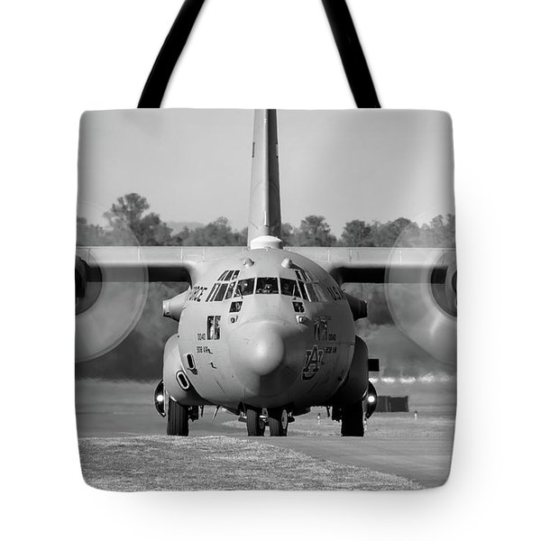 Hercules In Black And White Tote Bag