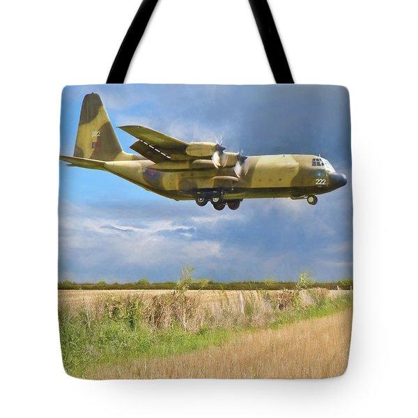 Hercules Xv222 Tote Bag by Paul Gulliver