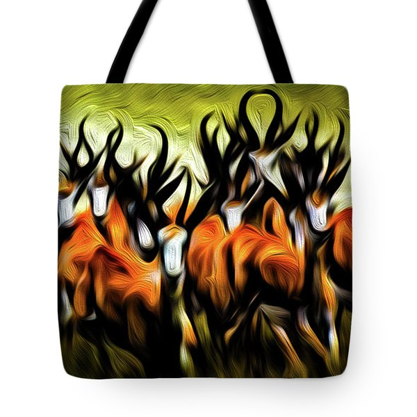 Herd Tote Bag by Bruce Iorio