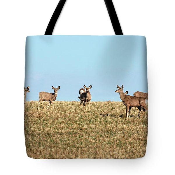 Herd Of Deer Tote Bag