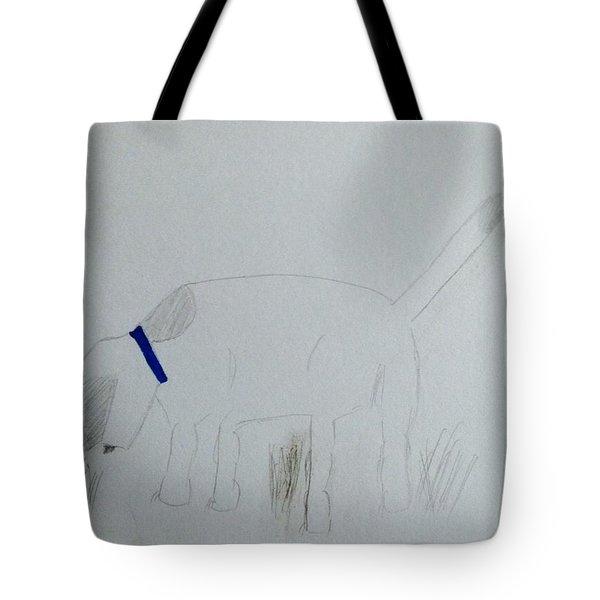 Here Boy Tote Bag by Alohi Fujimoto