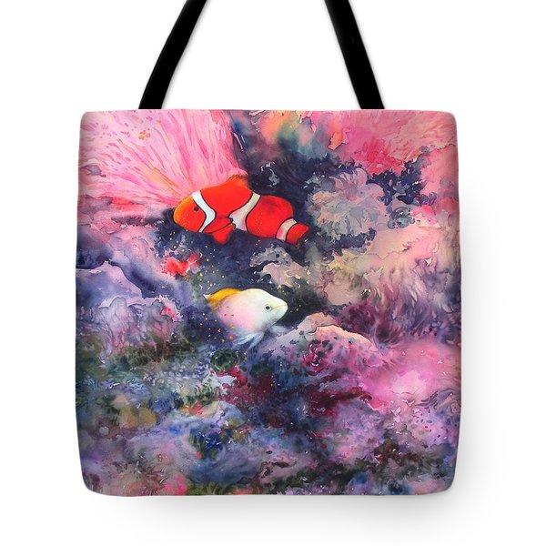 Here Comes Nemo Tote Bag