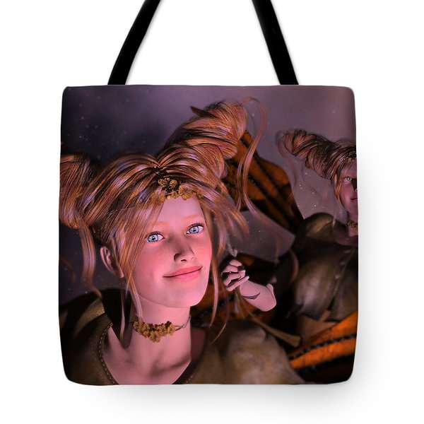 Here Comes Sunshine For Jerry  Tote Bag by Betsy Knapp