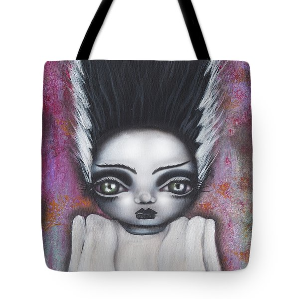 Here Comes The Bride Tote Bag by Abril Andrade Griffith