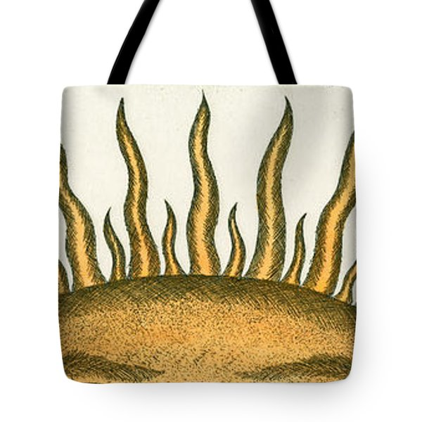 Here Comes The Sun Tote Bag by Charles Harden