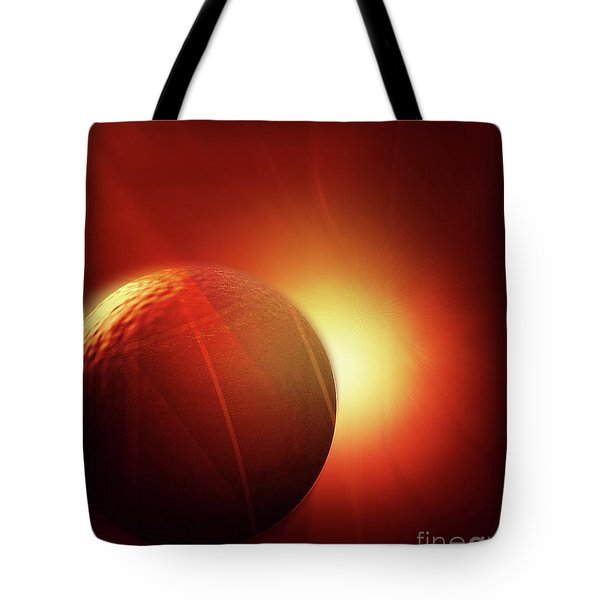 Here Comes The Sun Tote Bag by John Krakora
