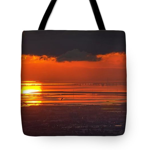 Tote Bag featuring the photograph Here Comes The Sun by Peter Thoeny