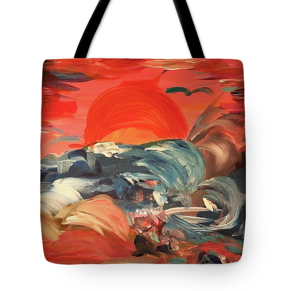Here Comes The Weekend Aka Indian Rocks Beach Sunset Tote Bag