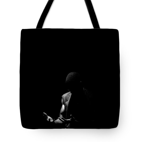 Tote Bag featuring the photograph Here by Eric Christopher Jackson