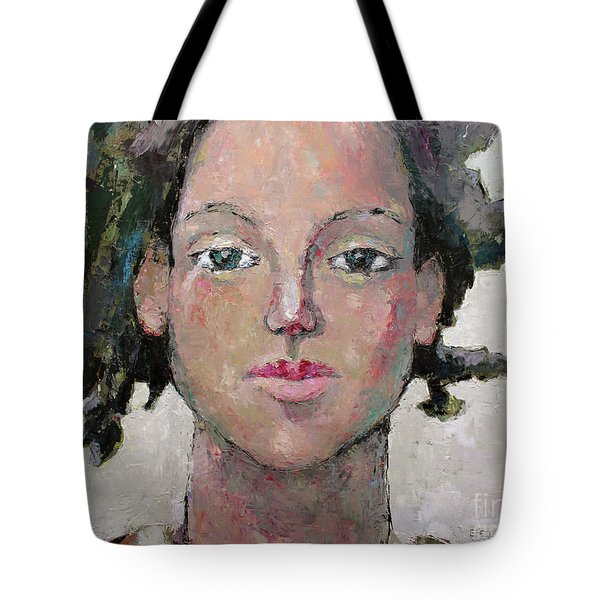Here I Am Tote Bag by Becky Kim
