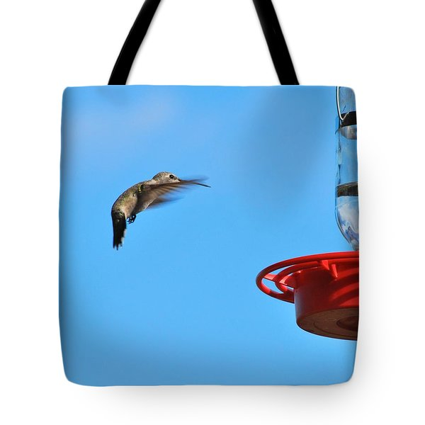 Here I Come Tote Bag