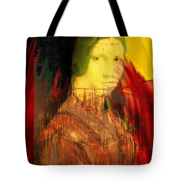 Here Is Paint In Your Eye Tote Bag