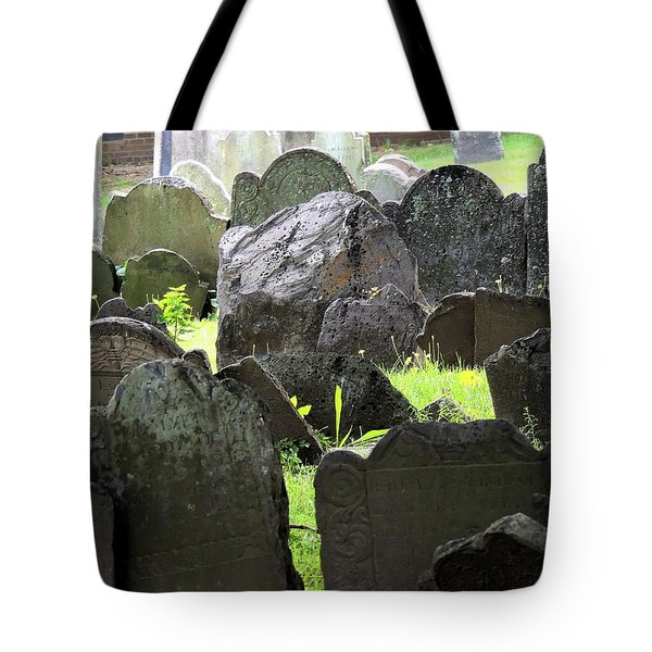 Here Lyeth Tote Bag