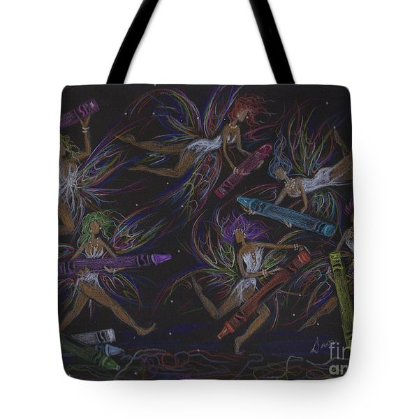 Here We Go A Coloring... Tote Bag