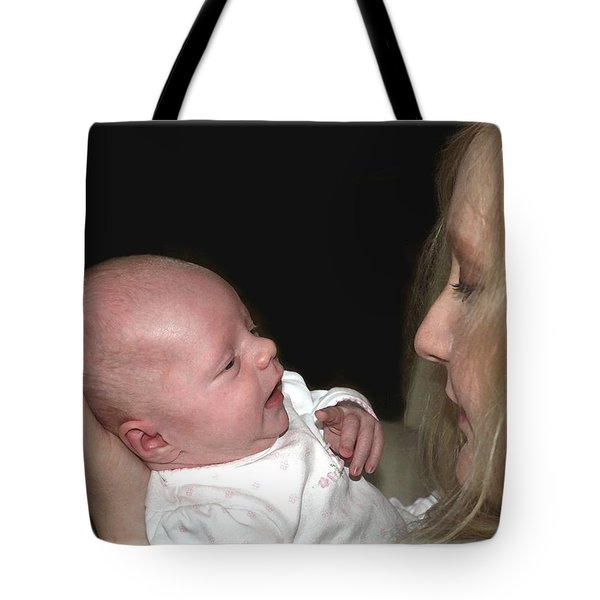 Here's Lookin' At You Babe 2 Tote Bag by Ellen O'Reilly