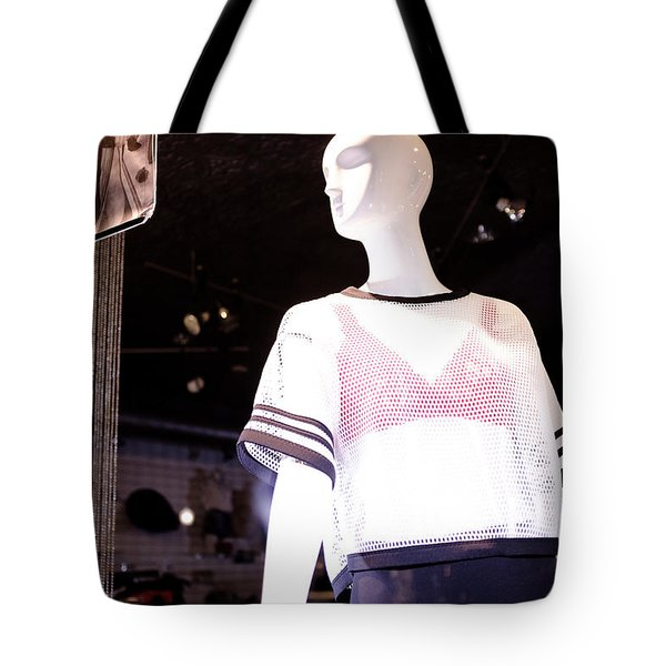 Here's Looking At You In Downtown Winter Park Florida Tote Bag