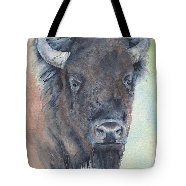 Here's Looking At You - Bison Tote Bag