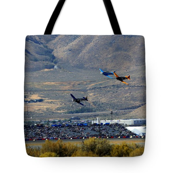 Here's Looking Back At You.  T6 Race. Tote Bag