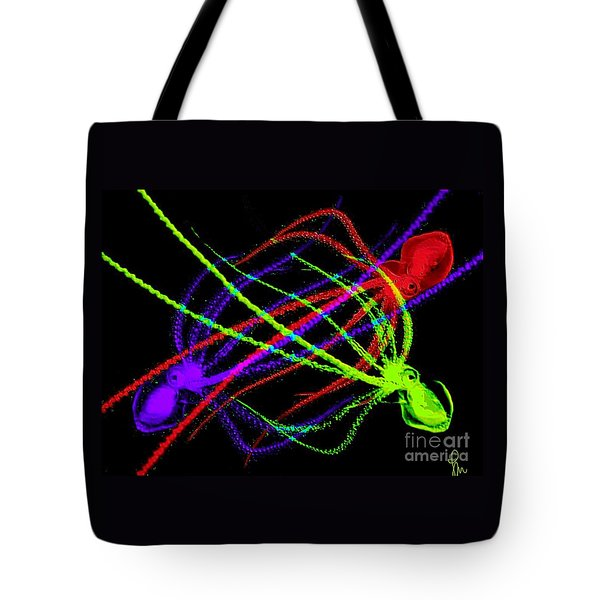 Tote Bag featuring the digital art Here's One Too Much by Dragica  Micki Fortuna