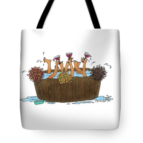 Here's To Us Tote Bag