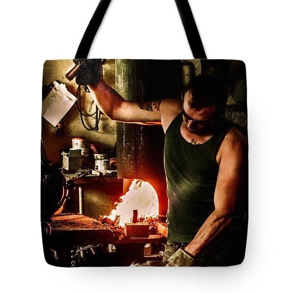 Heritage Blacksmith Tote Bag
