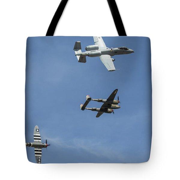 Heritage Flight Break Tote Bag