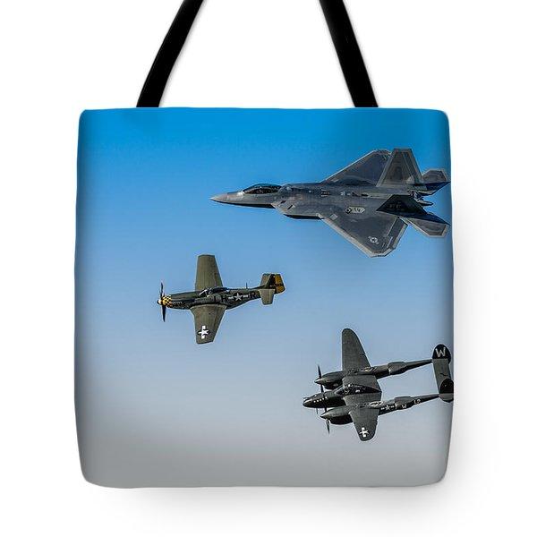Heritage Flight Tote Bag by Mark Goodman